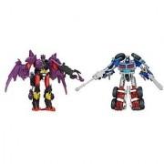 Transformers Prime Beast Hunters Optimus Prime Vs Predaking Predacons Rising Commander Class