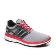 adidas Energy Cloud Lightweight Running Shoe - Mens GreyRed