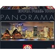 Puzzles Educa - Panorama Sydney de noche, puzzle de 1000 piezas (15994)