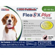 Flea5X Plus - Generic to Frontline Plus 6pk Dogs 23-44 lbs by Sargeant's
