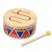 Pleasant Melodic Sound Solid Wood Drum