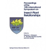 Insect-Plant Relationships by Stephen J. Simpson