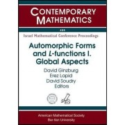 Automorphic Forms and L-Functions: Global Aspects Volume II by D. Ginzburg