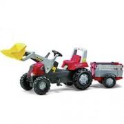 Rolly Toys 811397 RollyJunior RT Tractor met Lader en Farmtrailer