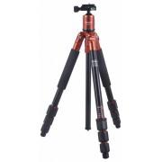Rollei Fotopro C4-i stand 53P cu cap bilă + geantă căptușită (portocaliu)