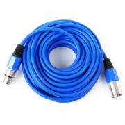 FrontStage - Cable XLR 10 m azul