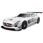 Mondo Motors 51153 - Coche de colección, escala 1:24, modelo Mercedes Benz SLS AMG GT3 (surtido: colores aleatorios)