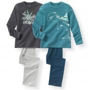 R édition 2 пижамы из хлопка с принтом океан 10-16 лет