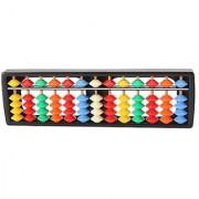 WEONE Multi-color Mini Plastic Colorful Office Useful 13 Column Abacus Soroban Calculating Tool
