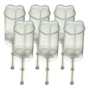 Sweetly Does It Cake Pop Push Up Moulds - Heart - Set of 6