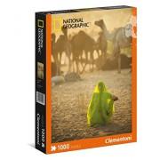Clementoni - 39302.2 - Puzzle - Femme indienne - 1000 pièces