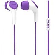 Koss KEB15i In-Ear Headphone Purple