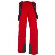 KILPI Pánské lyžařské kalhoty CALEB DM0068KIRED Červená M