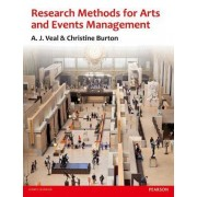 Research Methods for Arts and Event Management by A. J. Veal