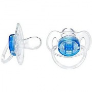 Avent Translucent Toddler Pacifier 6-18 Months 2-Pack Red