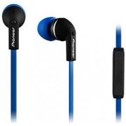 Casti Stereo Pioneer SE-CL712T, Jack 3.5mm, Microfon (Albastru)