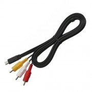 VMC-15MR2 AV Replacement Cable for Sony Handycam HDR-CX and HDR-PJ Series Camcorders