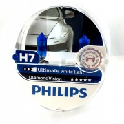2x ampoules Philips H7 Diamond Vision 55W