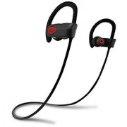 Bluetooth Sport Headphones with Mic offered by PHI Sports & Outdoors. High Definition Sound with Bass Noise Cancelling IPX7 Waterproof Secure Fit & 6-8 Hrs Playtime.Carrying Case Included(Gray)