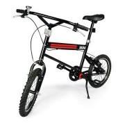 "SWAGSPIN LICENSED RASTAR ORIGINAL MINI COOPER 16"" VELO BLACK BICYCLE (CYCLE)"