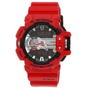 G-Shock Bluetooth Bluetooth Analog-Digital Red Dial Mens Watch - GBA-400-4ADR (G559)