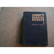 Harrap's Shorter Franch And English Dictionnary. Part 2 English - French