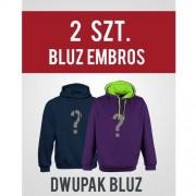 DWUPAK BLUZ - 2 szt. Bluz Embros