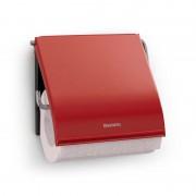 Brabantia rozsdamentes wc papír tartó piros - 107863