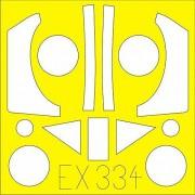 Eduard Masks 1:48 - Focke Wulf Ta 152H (Hobbyboss) - (EDMEX334)