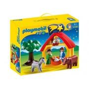 PLAYMOBIL 1, 2, 3: Kerststal (6786)
