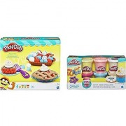 Confetti Play-Doh with Playful Pies Set Create Delightful Desserts that everyone will enjoy