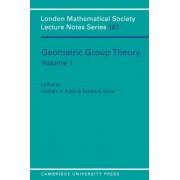 Geometric Group Theory: v. 1 by Graham A. Niblo