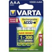 batterie ministilo 1,5v ricaricabile 1000 mah - varta - tipo aaa - bli