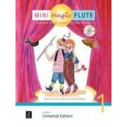 UNIVERSAL EDITION Mini Magic Flute (Band 1 of 4) - BOOK+CD