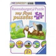 PUZZLE ANIMALE DE GRADINA, 9X2 PIESE (RVSPC07313)