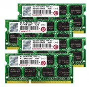 "Transcend TS32GJMA584H JetMemory - Kit memoria DDR3-RAM da 32 GB (4 x 8 GB, 1600 MHz, CL11) per Apple iMac 27"""