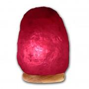 Lampara de Sal del Himalaya -Roja- Estimulante