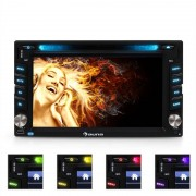 Auna MVD-480 Autorádio com display MP3 USB DVD SD Bluetooth