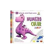 Numero Color Junior Plus. Carte de colorat dupa numere