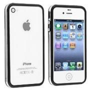Casotec Bumper Case For Apple iPhone 4/4S (Black)