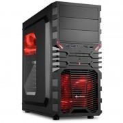 Carcasa Sharkoon VG4-W Red