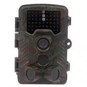 Uphig Cámara de Caza 12MP Low Glow 940nm 1080P HD 120° Digital infrarrojos de visión nocturna Vida Silvestre impermeable rastro Caza Cámara