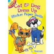 Cat & Dog Dress Up Sticker Paper Dolls by L. Hoerner