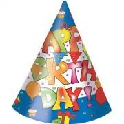 Set 6 coifuri Happy Birthday