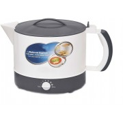 Shrih SH-03885 Fast And Easy Multicook Express Electric Kettle(1 L, White, Grey)