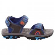 Jack Wolfskin Lakewood Ride Sandal Kinder Gr. 26 - blau / active blue - Freizeitsandalen