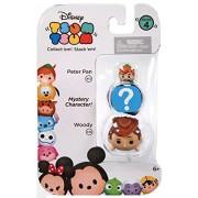 "Disney Tsum Tsum Series 4 Peter Pan & Woody 1"" Minifigure 3-Pack"