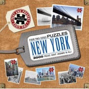 New York City: Four Two-Sided Puzzles
