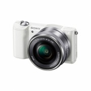 Sony Alpha A5000 Alb (ILCE-5000L/W) + SEL16-50mm E-Mount, 20.1MP,WiFi/NFC,FullHD RS125010995-1