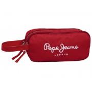Borseta Pepe Jeans Logo Basic Rosu